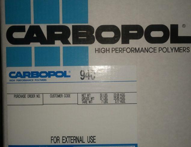 Carbopol 940 Polymer
