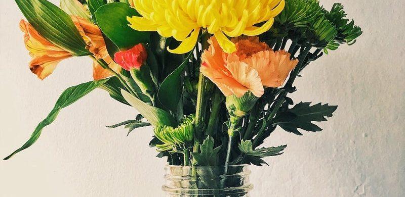 florist gel ,fresh flower