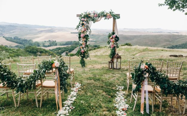 wedding day flower decoration ideas